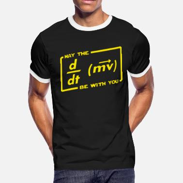 With Full Force May The Force Be With You - Men's Ringer T-Shirt