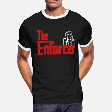 Hockey Store The Enforcer (hockey) - Men's Ringer T-Shirt