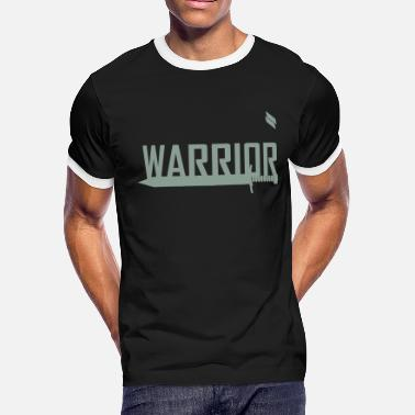 One Man Army Warrior - Men's Ringer T-Shirt