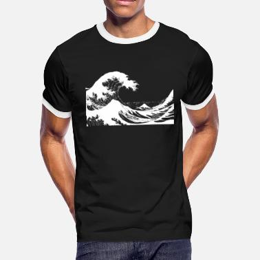 Dark Wave Dark Wave - Men's Ringer T-Shirt