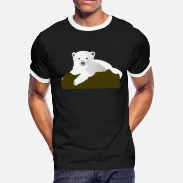 Knut Knut the Polar Bear - Men's Ringer T-Shirt