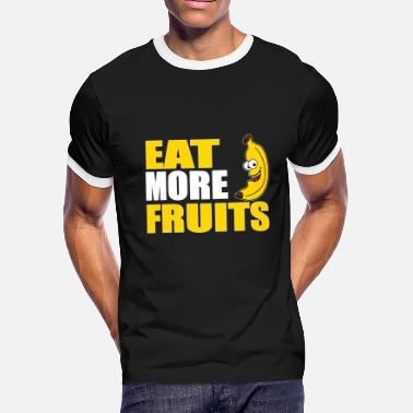 Fruit Salad Fruit Apple Food Gift Fruit Fruit Korinthe - Men's Ringer T-Shirt