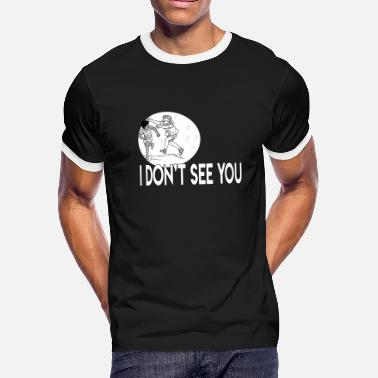 Eye Patch Blindfold Eye Patch - Men's Ringer T-Shirt