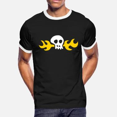 Tentacle Day of the Tentacle: Hoagie Skull - Men's Ringer T-Shirt
