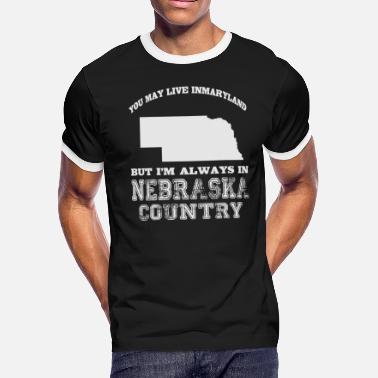 5d45b076 Men's Premium T-Shirt. Nebraska Republic. from $24.49. Funny Nebraska  Nebraska - Nebraska Country - Men's Ringer ...