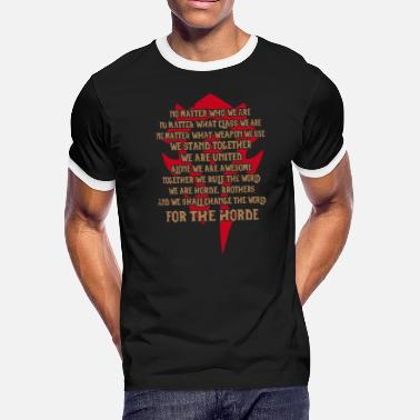 Westfalen For the Horde - Awesome t-shirt for Wow Fans - Men's Ringer T-Shirt