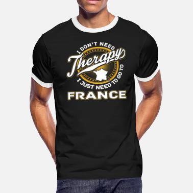 Victoria Frances France - I just need to go to france - Men's Ringer T-Shirt