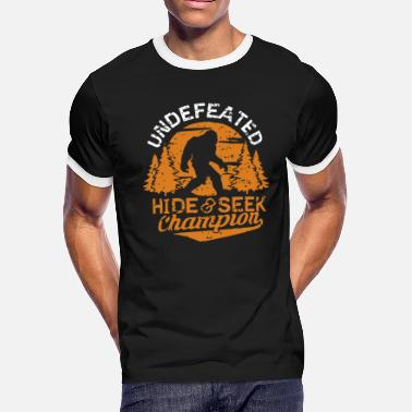 Undefeated Undefeated hide and seek champion - Men's Ringer T-Shirt