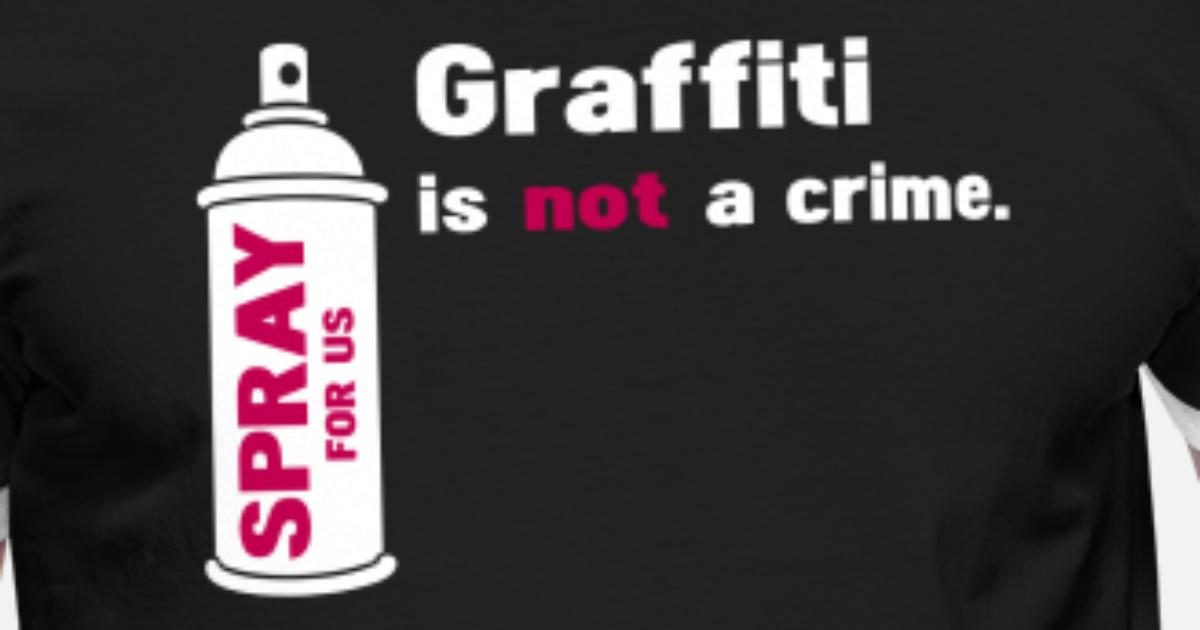 d4a0cdf1 graffiti is not a crime - spray for us Men's Ringer T-Shirt | Spreadshirt