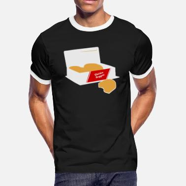 Chicken Nuggets Chicken Nugget - Chicken Nuggets - Men's Ringer T-Shirt