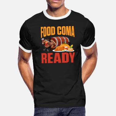 Coma Food Coma Ready. - Men's Ringer T-Shirt