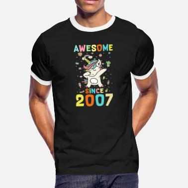 2007 Awesome Since 2007 - Men's Ringer T-Shirt