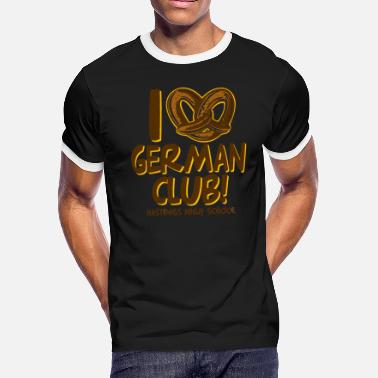 Germanic Fantasy GERMAN CLUB HASTINGS HIGH SCHOO - Men's Ringer T-Shirt