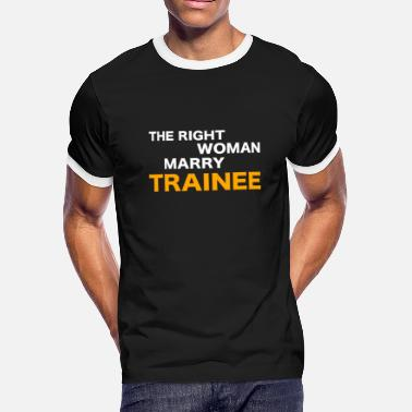 Trainee Trainee - Men's Ringer T-Shirt