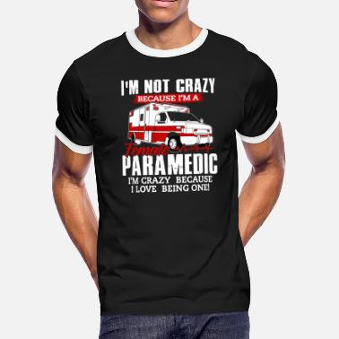 Rescue Services Paramedic Shirt - Rescue Service - Crazy - Men's Ringer T-Shirt