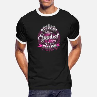 Tinker Tailor Soldier Spy Tailor – Blessed by god spoiled by my tailor - Men's Ringer T-Shirt