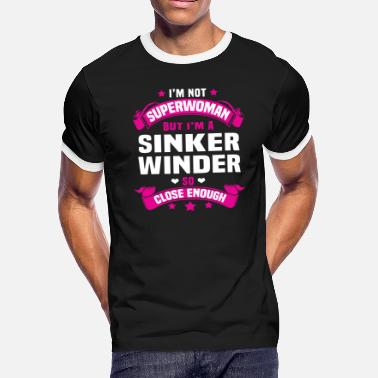 Sinker Sinker Winder - Men's Ringer T-Shirt