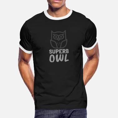 Unofficial Sports Superb Owl Football Meme - Men's Ringer T-Shirt