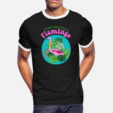 Flamingo - Men's Ringer T-Shirt