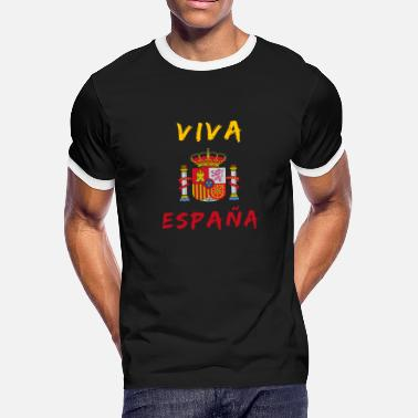 Spanish Viva Espana Spain / Gift Madrid coat of arms - Men's Ringer T-Shirt