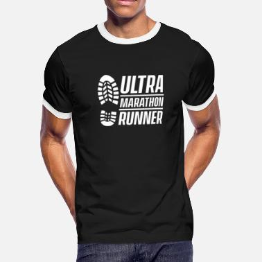Ultramarathon Ultramarathoner Ultramarathon Ultra Runner Race - Men's Ringer T-Shirt