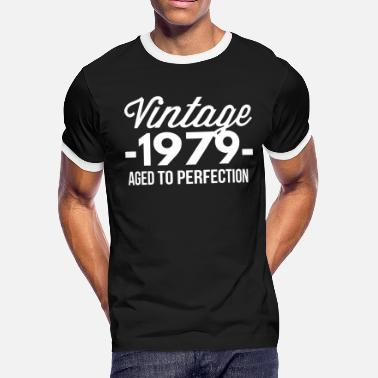 1979 Aged To Perfection Vintage 1979 aged to perfection - Men's Ringer T-Shirt