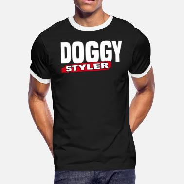 doggy styler shirt dog groomer - Men's Ringer T-Shirt