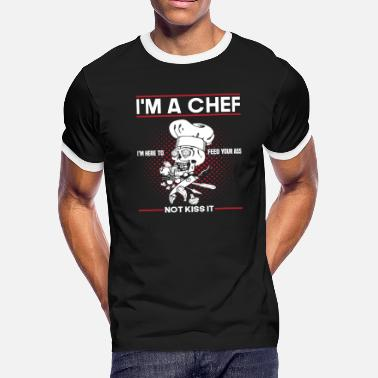 Chef Feeds You - Men's Ringer T-Shirt