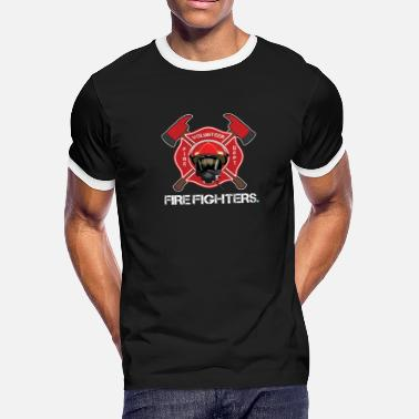 Funny Quote Quotes Fireman Firefighter Fire Department Firefighting Burn Gift - Men's Ringer T-Shirt