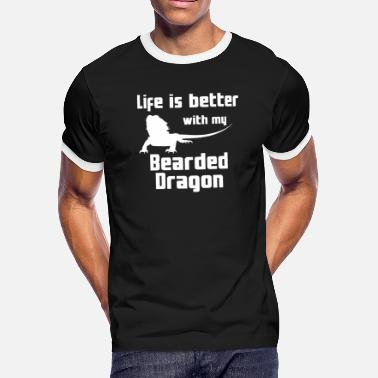 Bearded Dragon Bearded Dragon Fashion - Men's Ringer T-Shirt