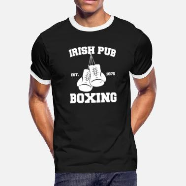 Irish Pub Boxing Irish Pub - Boxing - Men's Ringer T-Shirt