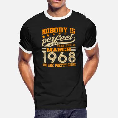 701f65047 Legends Vintage Made In March 1968 50th Birthday Gift 50 yrs - Men'
