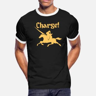 Charges Charge - Men's Ringer T-Shirt