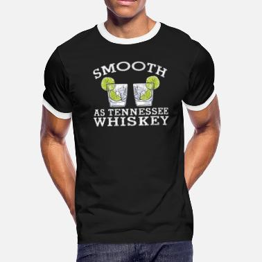 Tennessee Smooth as Tennessee Whiskey - Men's Ringer T-Shirt