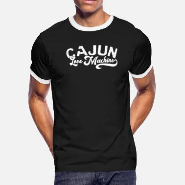 Celebrate Love Parade Cajun Love Machine Mardi Gras for Men Women Parade - Men's Ringer T-Shirt