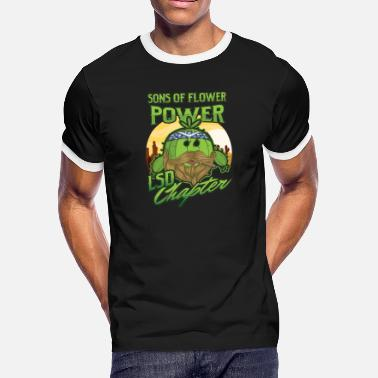 Flowercontest Sons of Flower Power-funny Biker Gift-Rider Gift - Men's Ringer T-Shirt