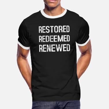 578cf693a Bible Quote Christian Faith - Men's Ringer T-Shirt