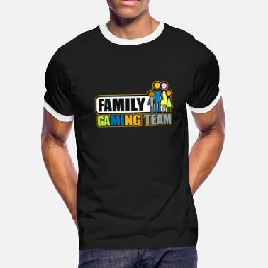 Gaming Team Family gaming team - Men's Ringer T-Shirt