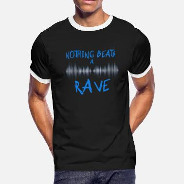 7098d320 Festival Rave Party Funny Drinking Music Camping - Men's Ringer T-
