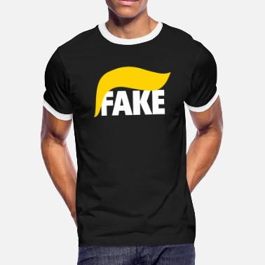 President Fake - Men's Ringer T-Shirt