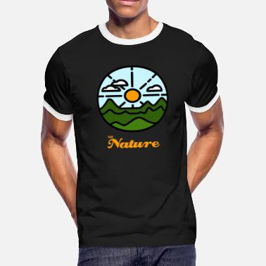 By Nature the nature - Men's Ringer T-Shirt