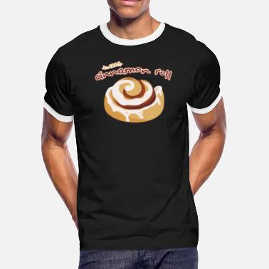 Sweet Roll Sweet Tooth Collection Sweet Cinnamon Roll - Men's Ringer T-Shirt