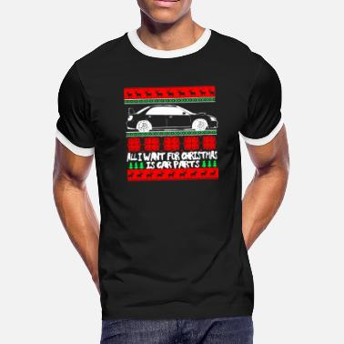 6646ef55649e4 Car Parts Christmas Shirt - Men  39 s Ringer T-Shirt