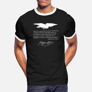 Poe The Raven, Edgar Allan Poe - Men's Ringer T-Shirt