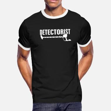 006b3d1c Detectorist | Funny Metal Detecting - Men's Ringer T-Shirt