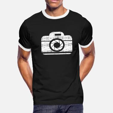 Photography Aperture Photography Camera - Men's Ringer T-Shirt