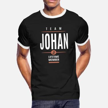 Johan Johan Lifetime Member - Men's Ringer T-Shirt