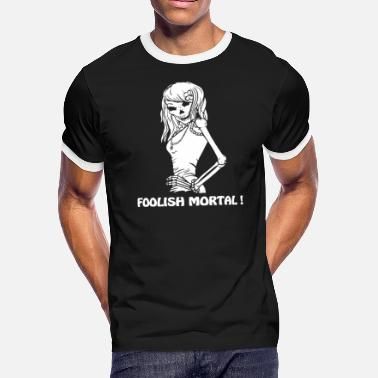 Foolish FOOLISH MORTAL - Men's Ringer T-Shirt