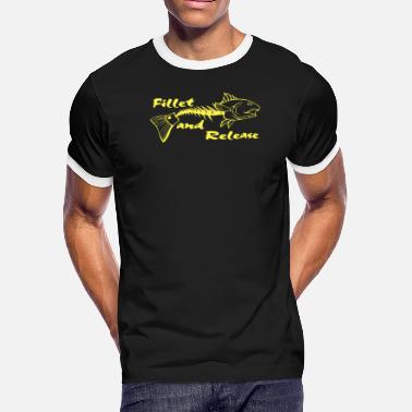 Fillet Fillet and Realese - Men's Ringer T-Shirt