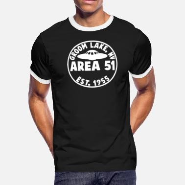 Area 51 Groom Lake Area 51 T Shirt - Men's Ringer T-Shirt